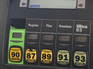 Gasoline vs Ethanol vs Alternative fuels - energy efficient vehicles